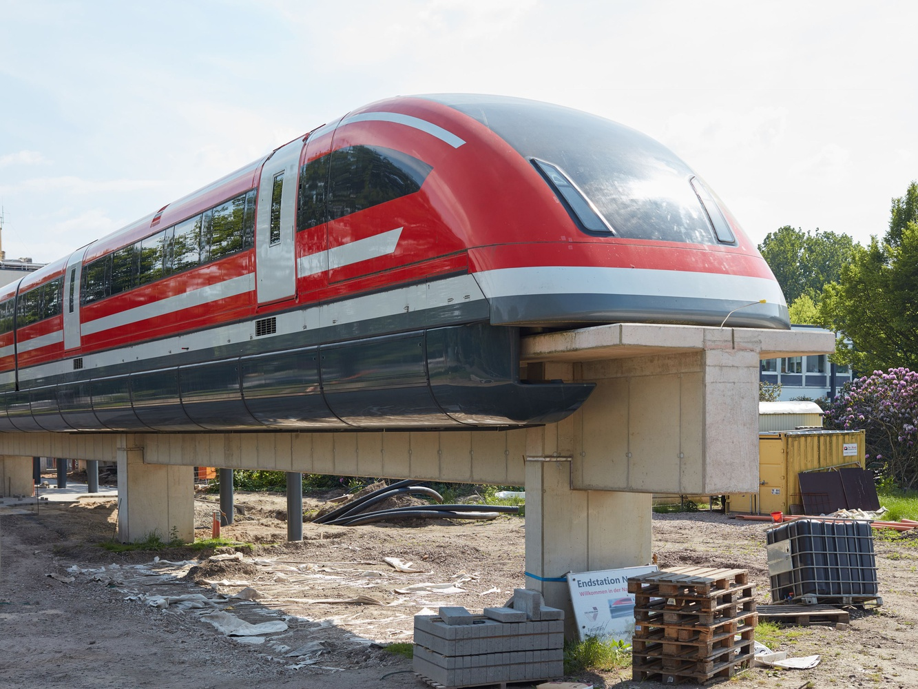 Transrapid 09 in Nortrup